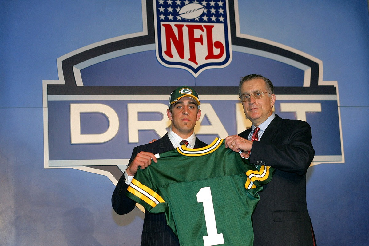 rodgers draft